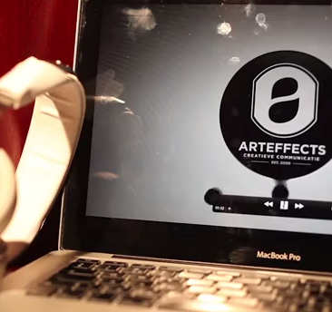 Gamze's presentatie film over Arteffects en haar stage