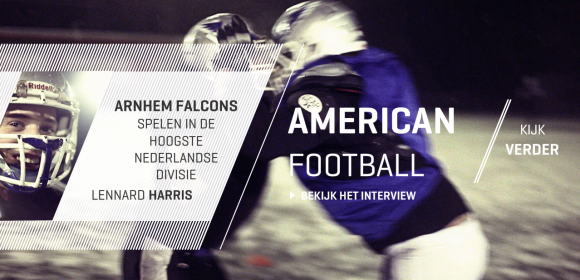 De Arnhem Falcons American Football team is een van de sublagen in de interactieve film2